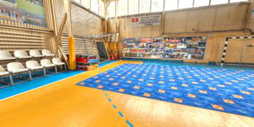 Спортивный оздоровительный комплекс. Спортивный зал.